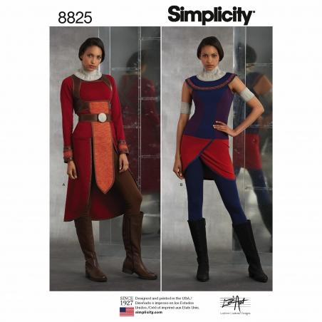 simplicity  8825 envelope front