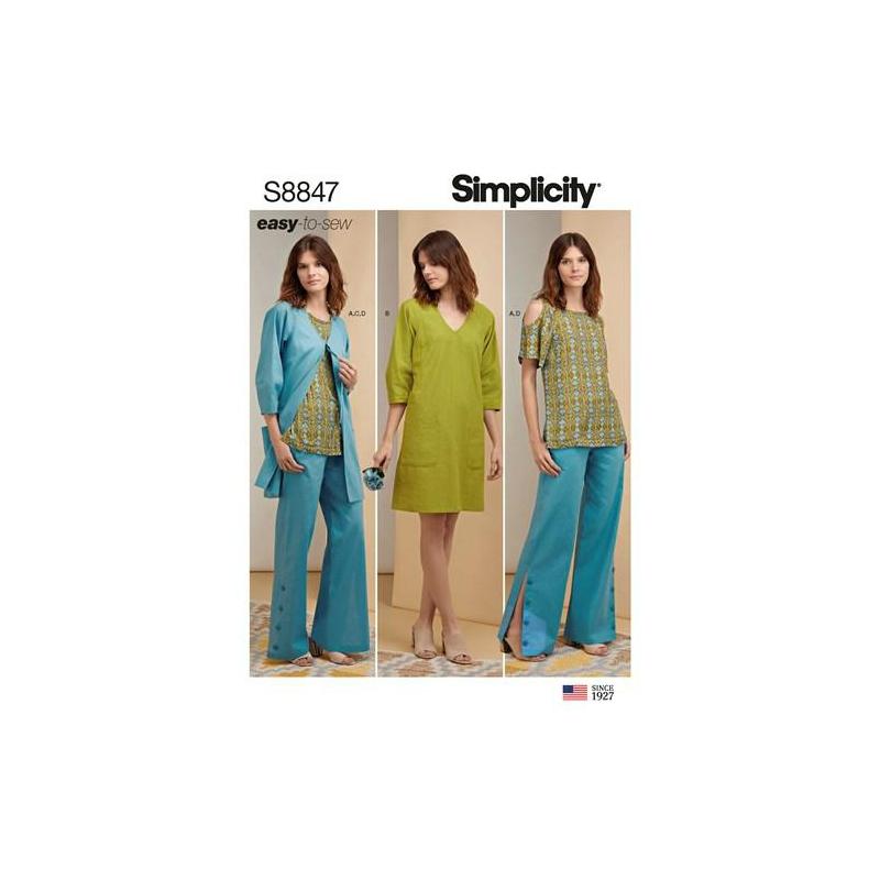 Wykrój Simplicity 8847
