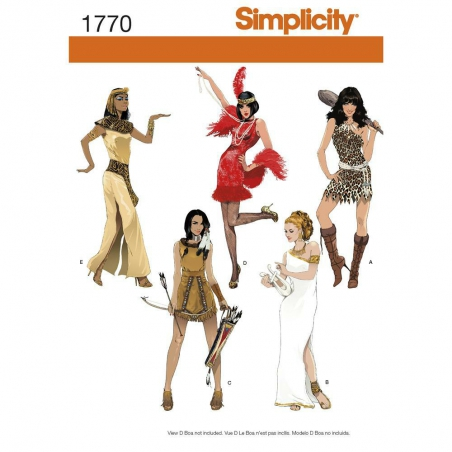1770 simplicity costumes pattern 1770 envelope fro