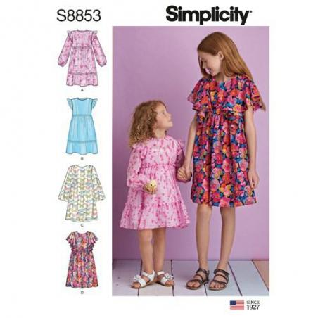 simplicity 1 girl pattern s8853