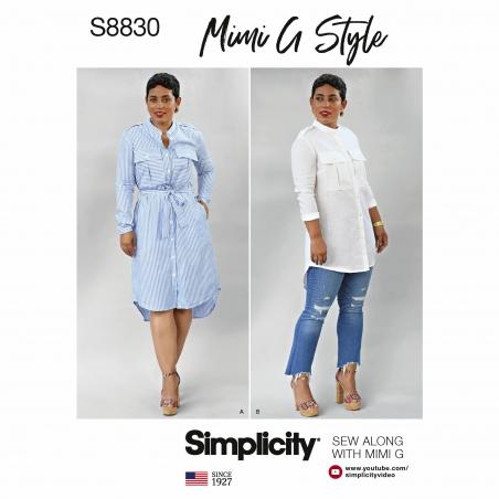 simplicity  s8830 envelope front