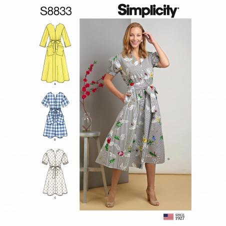 simplicity  pattern s8833