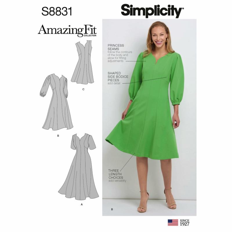 Wykrój Simplicity 8831