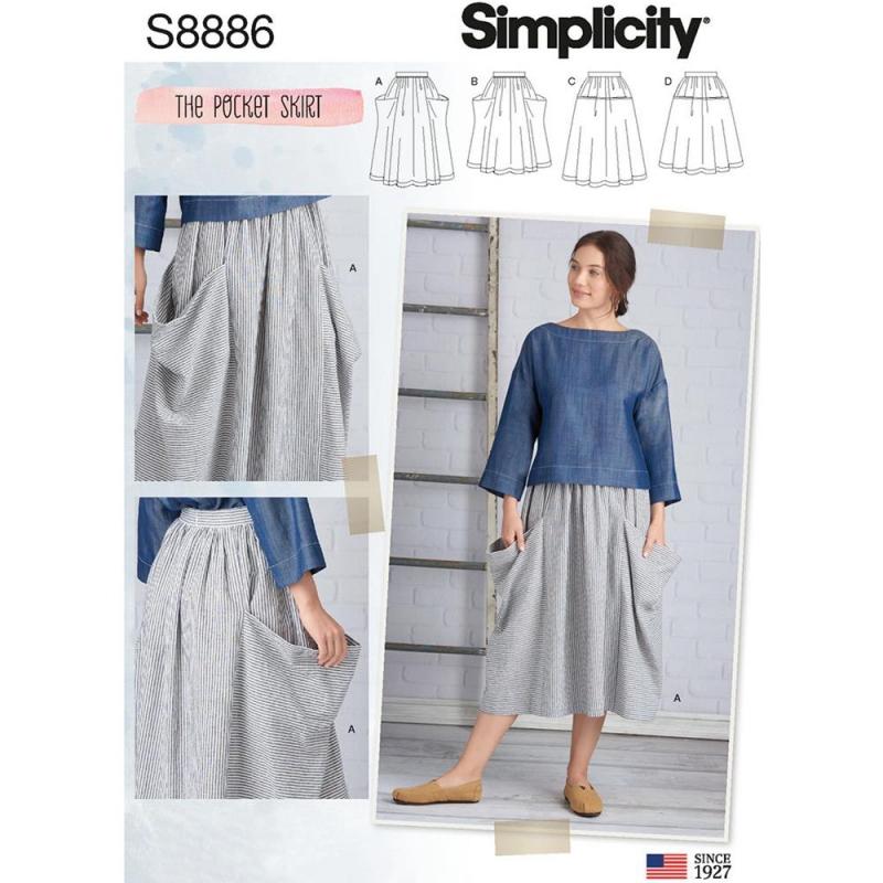 Wykrój Simplicity 8886
