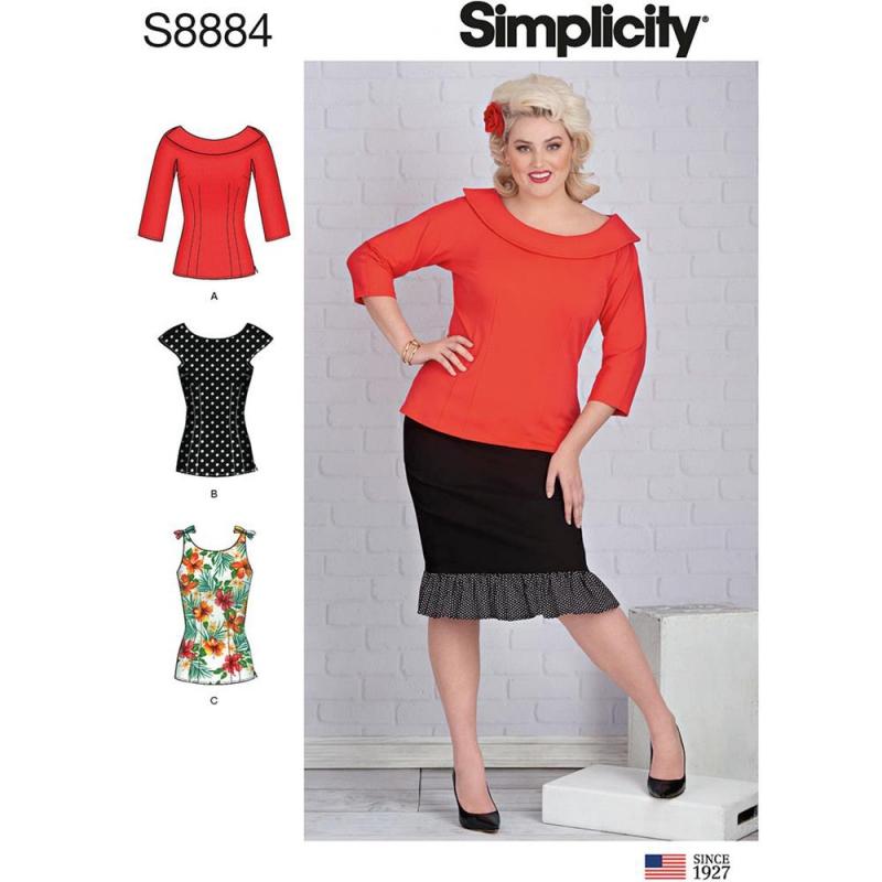 Wykrój Simplicity 8884