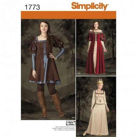 1773 simplicity costumes pattern 1773 envelope fro