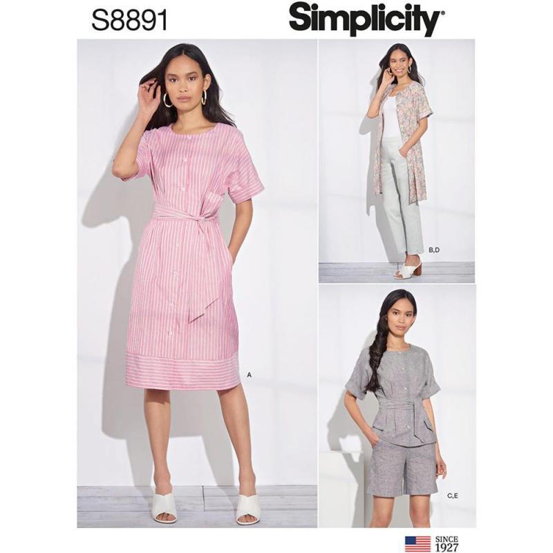Wykrój Simplicity 8891