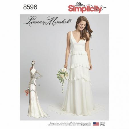 8596 envelope front Simplicity