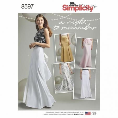 8597 envelope front Simplicity