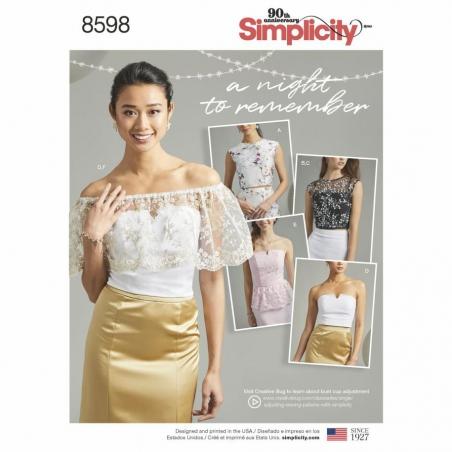 8598 envelope front Simplicity