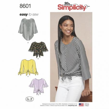 8601 envelope front Simplicity