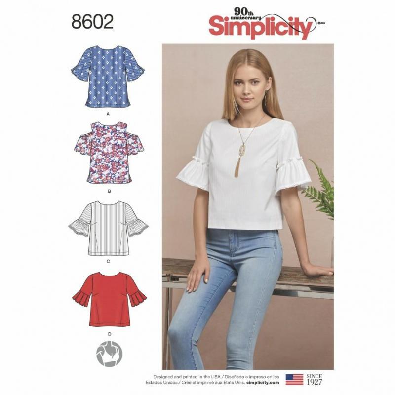 Wykrój Simplicity 8602