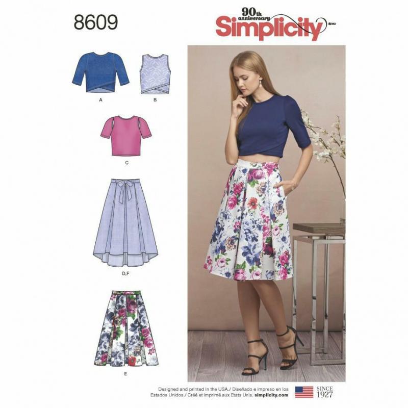 Wykrój Simplicity 8609