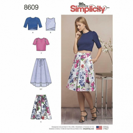 8609 envelope front Simplicity