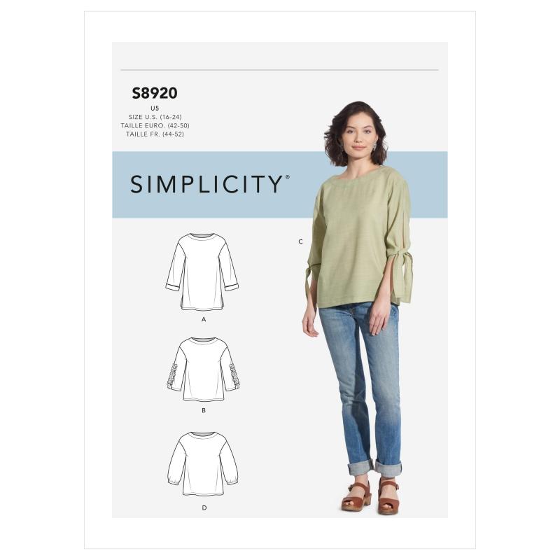 Wykrój Simplicity 8920