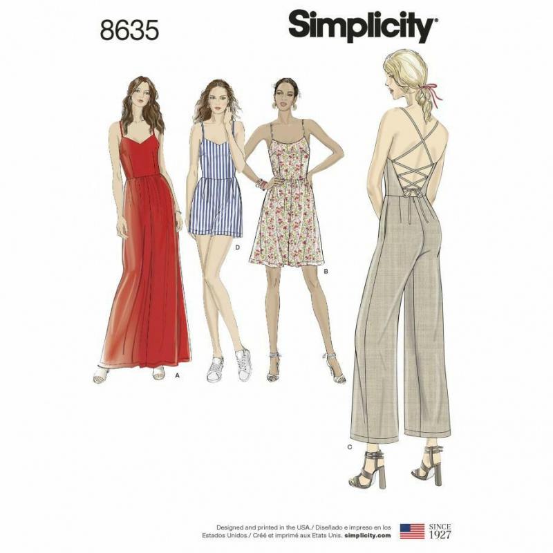 Wykrój Simplicity 8635