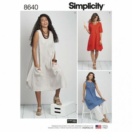 Simplicity 8640 envelope front