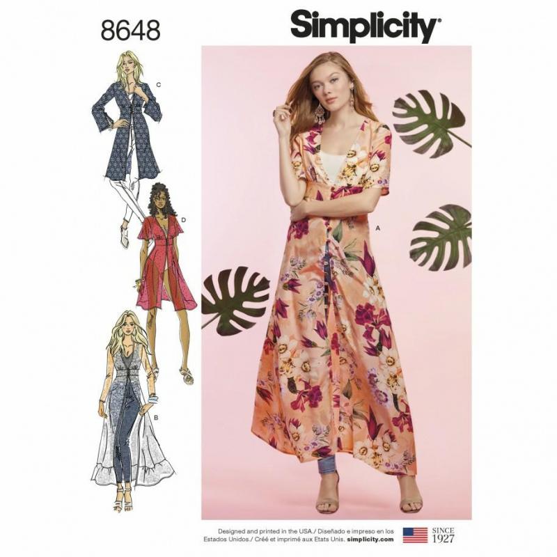 Wykrój Simplicity 8648
