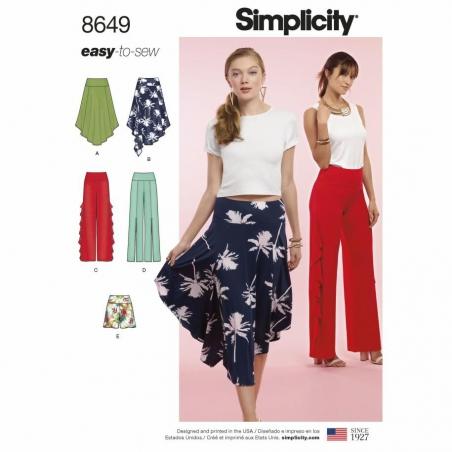 Simplicity  8649 envelope front