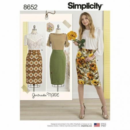 Simplicity  8652 envelope front