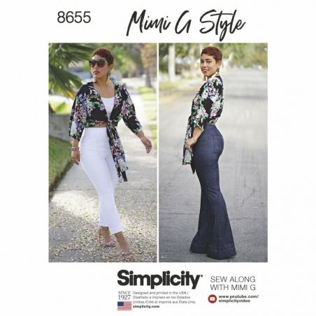 Simplicity  8655 envelope front
