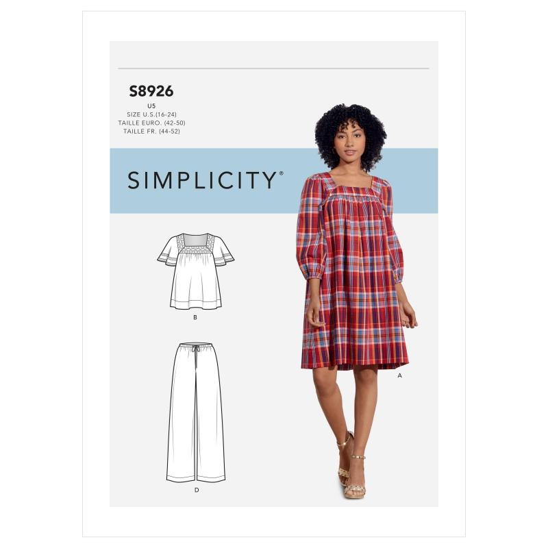 Wykrój Simplicity 8926