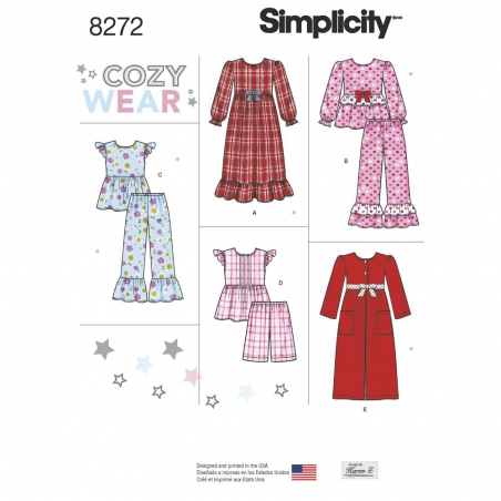 Selection simplicity children pattern 8272 envelop