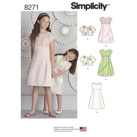 8271 simplicity children pattern 8271 envelope fro