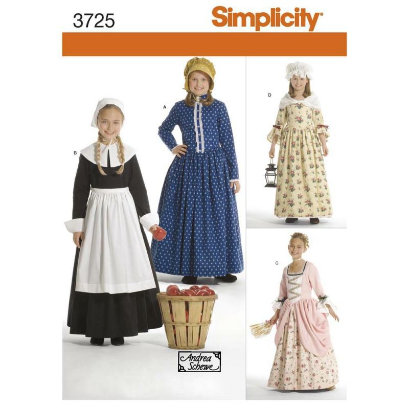 Wykrój Simplicity 3725