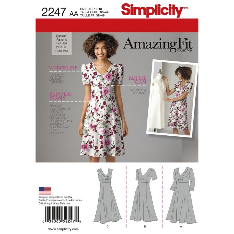 Wykrój Simplicity 2247