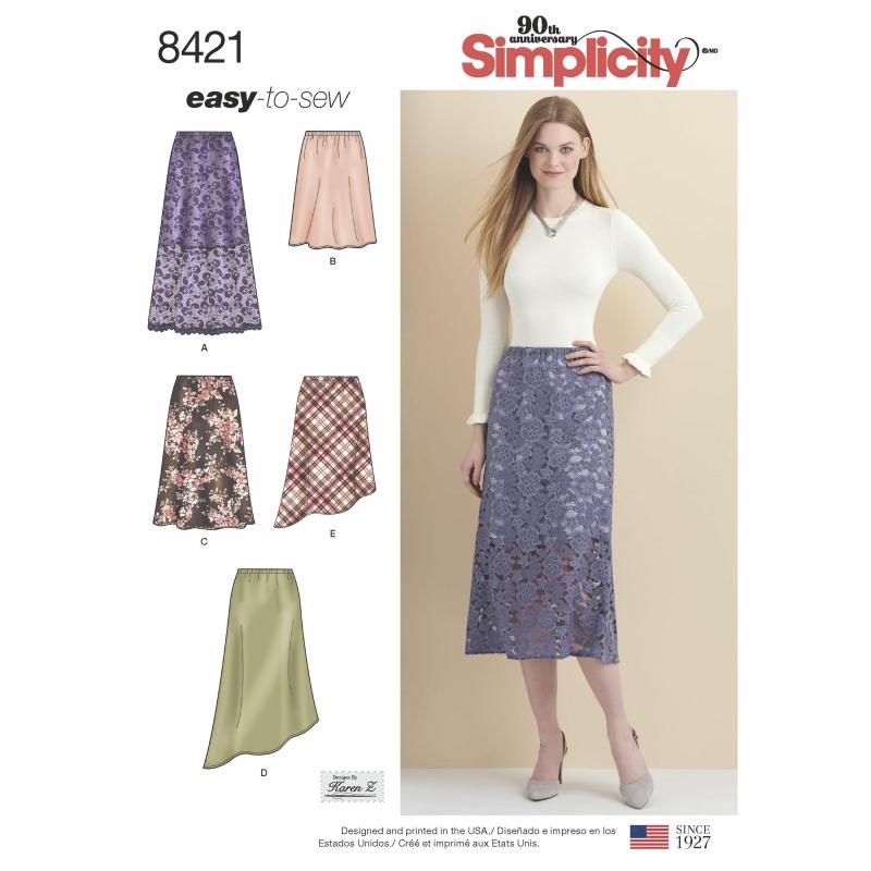 Wykrój Simplicity 8421