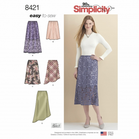 4simplicity skirts aline skirt easy miss patte