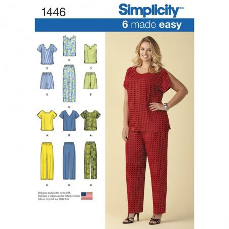 1446 simplicity plus sizes pattern 1446 envelope f