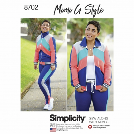 5Simplicity simplicity mimi g track suit athle