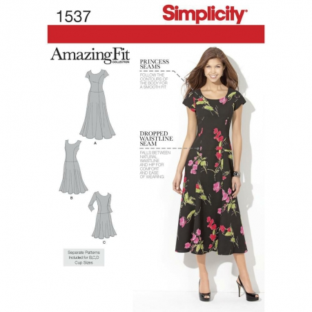 1537 simplicity dresses pattern 1537 envelope fron